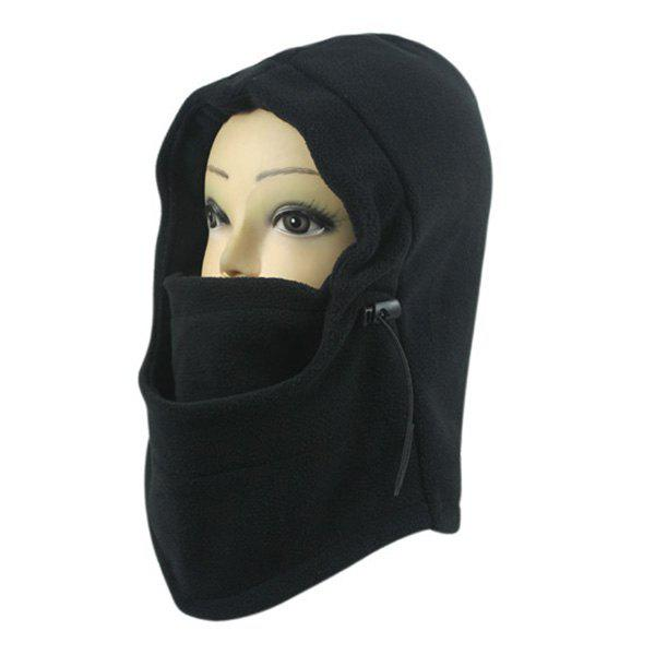 Outdoor Face Mask Neck Wind Winter Stopper Warmer Cycling Cap - BLACK