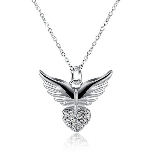 Heart Wing Necklace