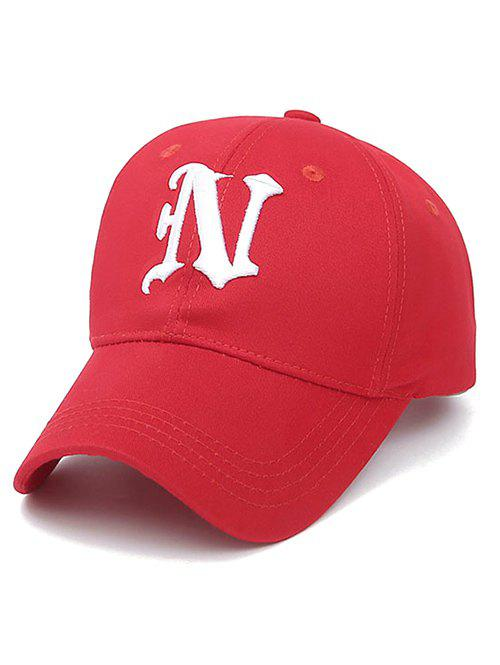 Embroidery Letter N Baseball Cap unisex men women m embroidery snapback hats hip hop adjustable baseball cap hat
