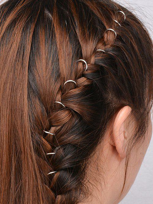 10 PCS Circle Hair Accessories