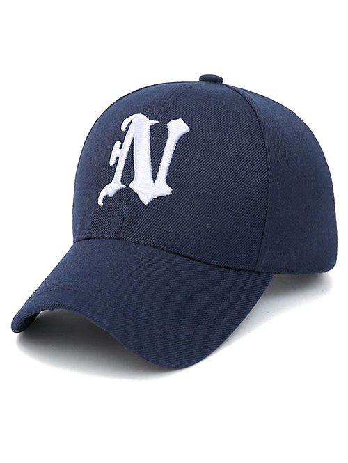 N Letter Embroidery Baseball Cap unisex men women m embroidery snapback hats hip hop adjustable baseball cap hat