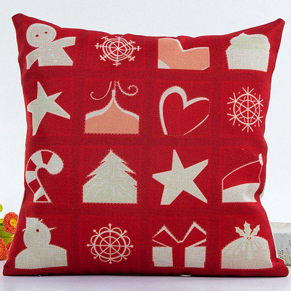 Household Merry Christmas Pillow Case merry christmas grass cushion throw pillow case
