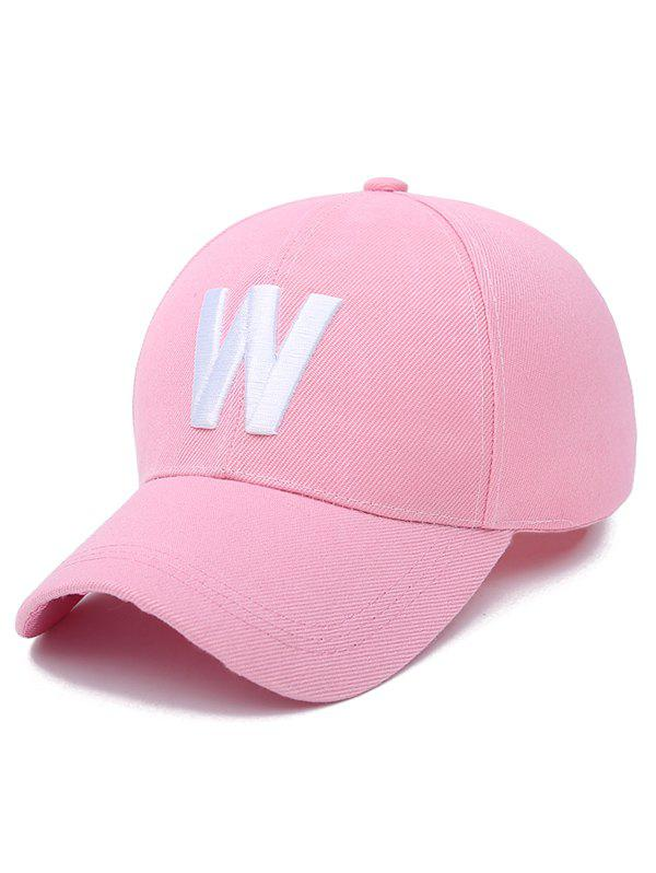 Embroidery W Letter Baseball Cap unisex men women m embroidery snapback hats hip hop adjustable baseball cap hat