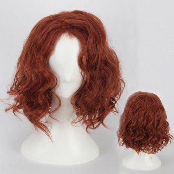 Towheaded Short Wavy Cosplay Synthetic Wig