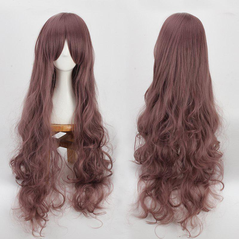 Long Bouffant Wavy Side Bang Cosplay Synthetic WigHair<br><br><br>Color: BRONZE