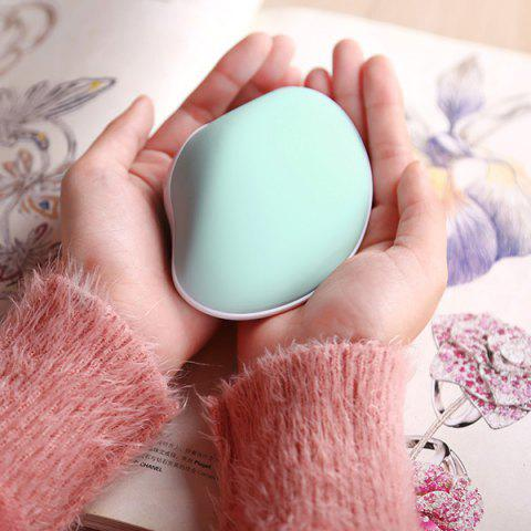 Mini Shape Hand Warmer USB Mobile Power - BLUE