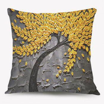 Tree of Life Oil Painting Sofa Cushion Pillow Case
