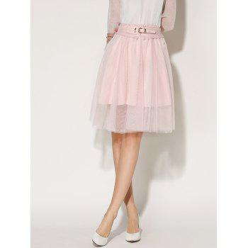 Tulle A-Line Skirt