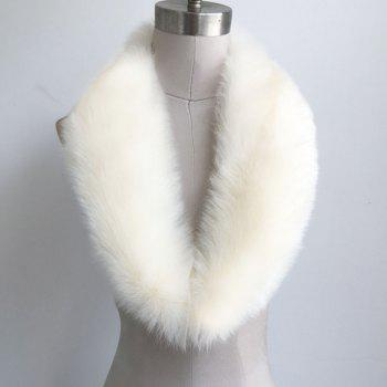 Winter Faux Fur Collar Scarf