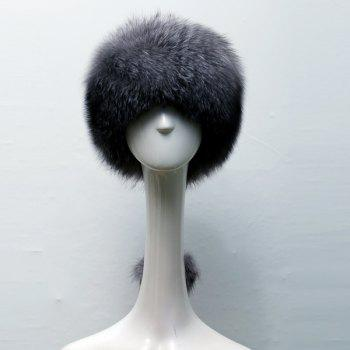 Ball Pendant Faux Fur Russian Hat