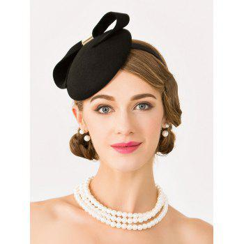 Elegant Bowknot Cocktail Hat