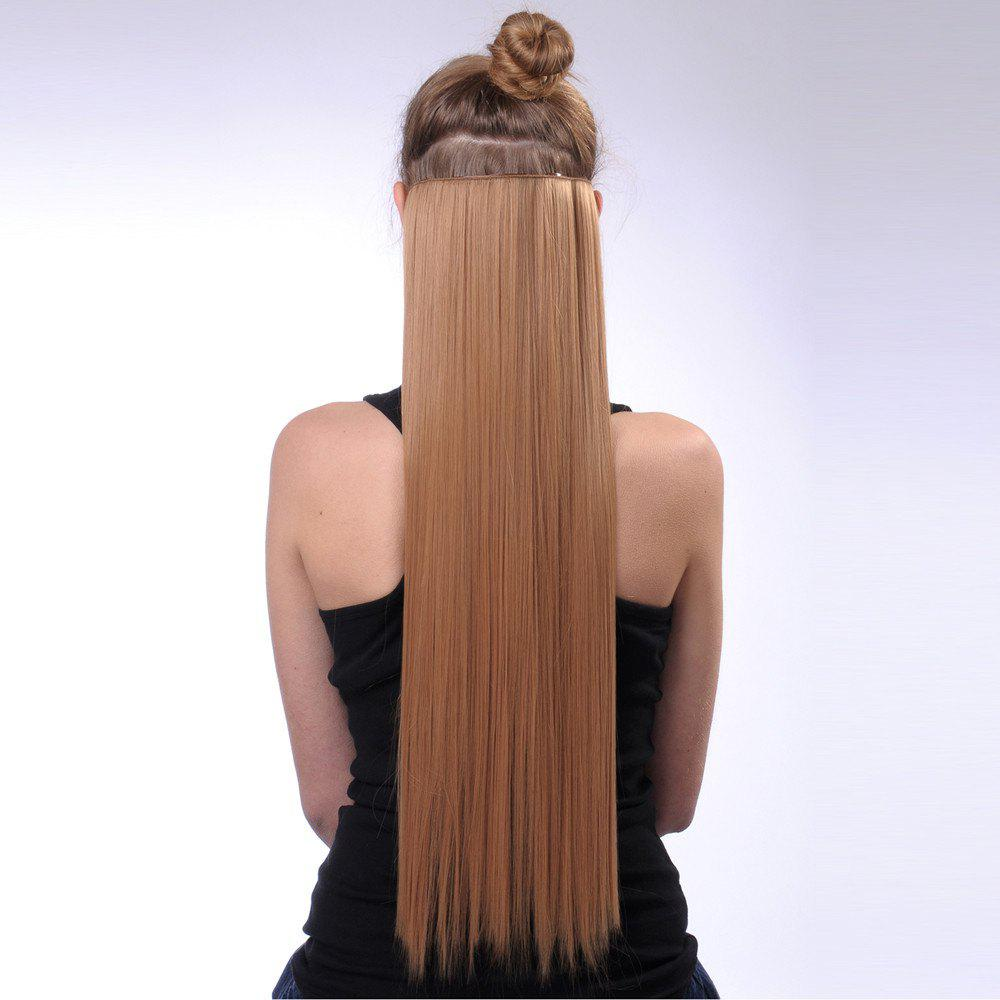 Synthetic Long Straight Hair Extension