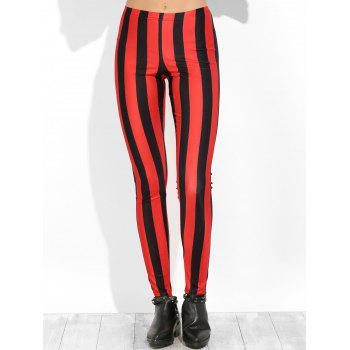 Striped Skinny Leggings