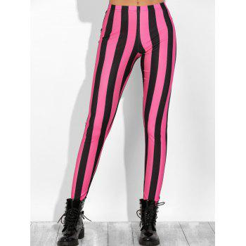 Color Block Stretchy Leggings
