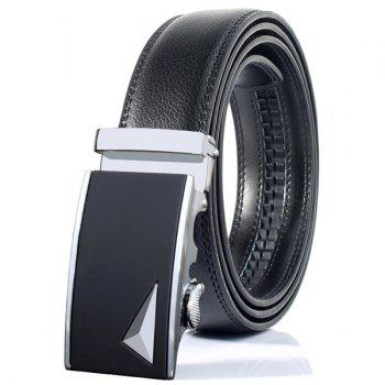 3D Triangle Stylish Automatic Buckle Wide Belt