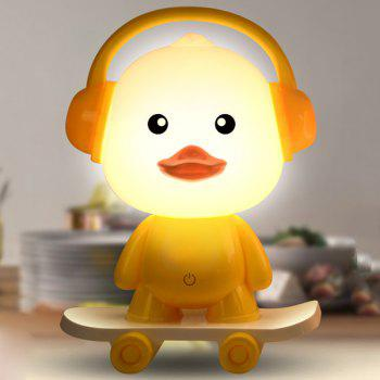 Cartoon USB Charging Touch Baby Room LED Night Light