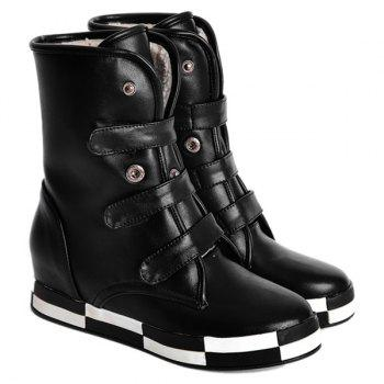 Increased Internal Fleece Lined Ankle Boots