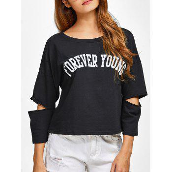 Cut Out Forever Young T-Shirt