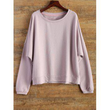 Bat-Wing Sleeve Loose Sweatshirt