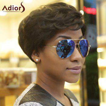 Adiors Fluffy Curly Short Layered Synthetic Wigs