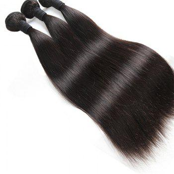 1 Pcs Straight 6A Virgin Brazilian Hair Weave - 28INCH 28INCH