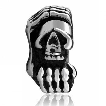 Vintage Adorn Devil Claws Skull Ring