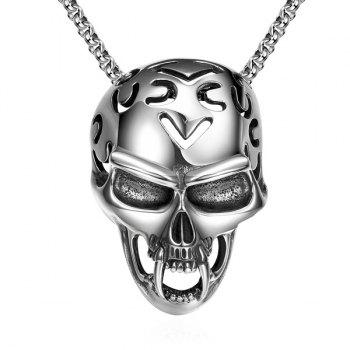 Vintage Adorn Devil Skull Necklace