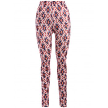 Skinny Argyle Leggings
