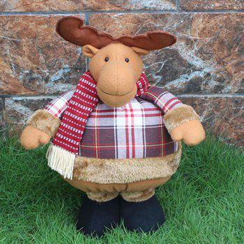 Novelty Kids Gift Christmas Elk Puppet Toy - COLORMIX COLORMIX