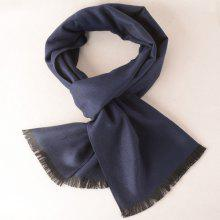 Simple Texture Fringe Scarf