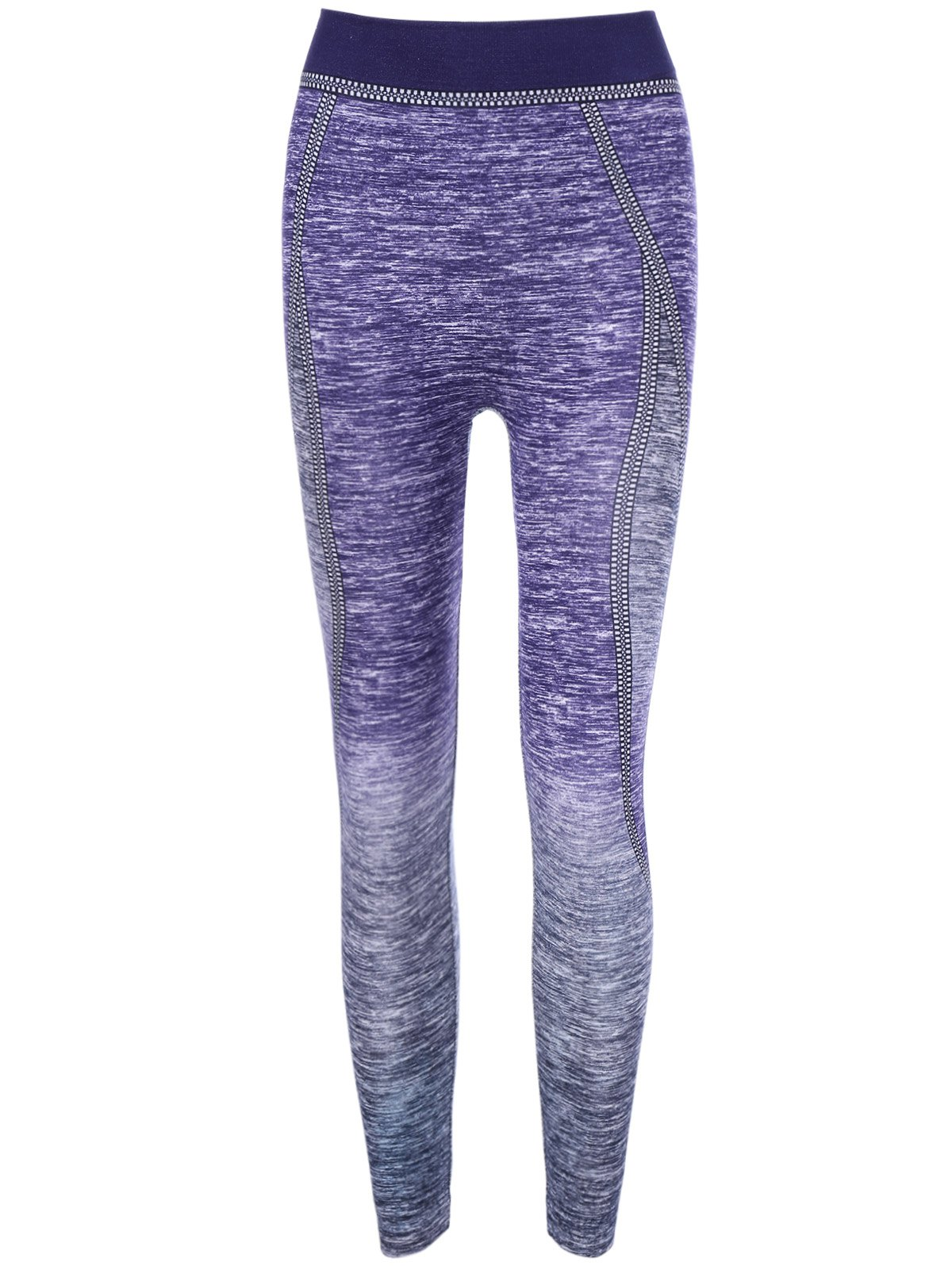 Ombre Color Yoga Pants - PURPLE ONE SIZE