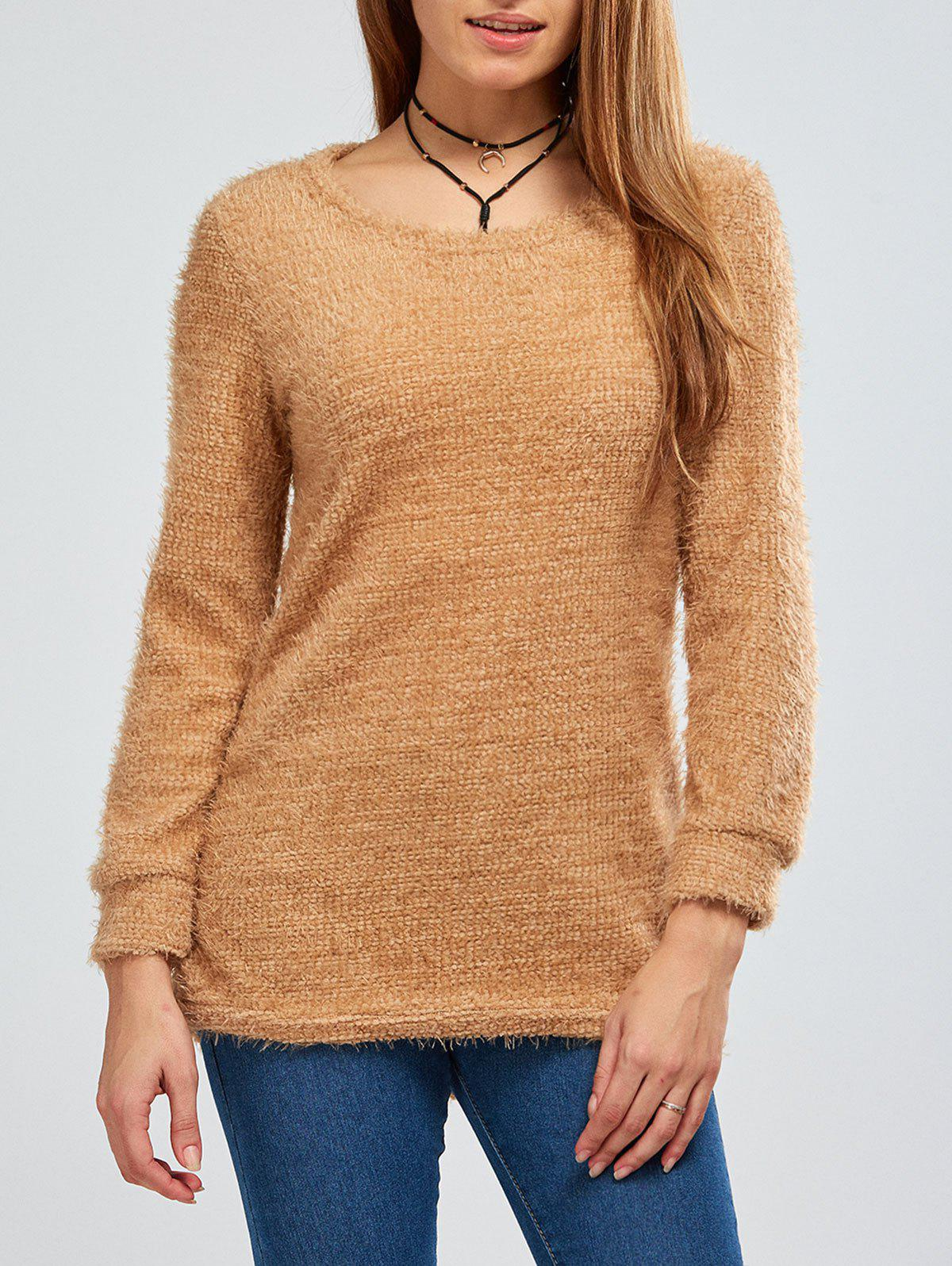 Fuzzy Knit Pullover Sweater fuzzy linear regression