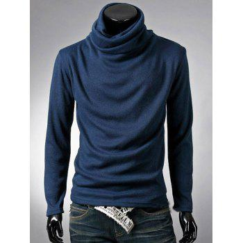 Thermal Cowl Neck Plain T-Shirt
