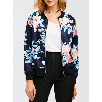 Flourishing Flowers Bomber Jacket
