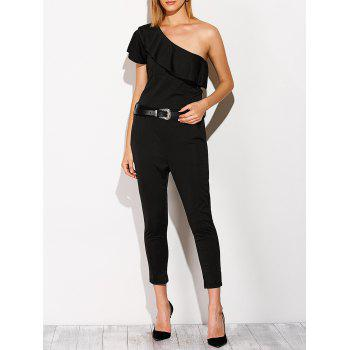 Capri One Shoulder Jumpsuit