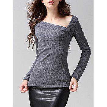 Knitted Fitting Ribbed Top