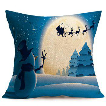 Merry Christmas Cushion Throw Pillow Cover