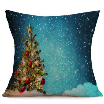 Christmas Tree Cushion Throw Pillow Cover For Home