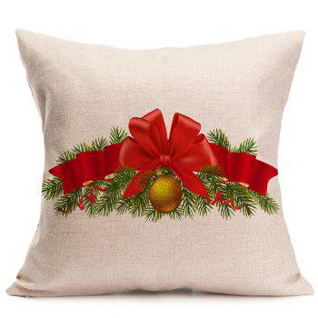 Christmas Bell Cushion Throw Pillow Cover For Home