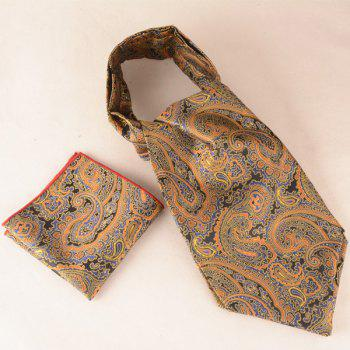 Jacquard Print Square Pocket Hanky and Cravat