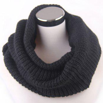 Loose Knitted Infinity Scarf