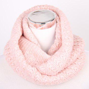 Twisted Knitted Infinity Scarf