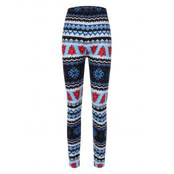 Christmas Pine Tree Print Leggings