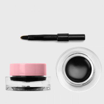 Waterproof Long Wear Gel Eyeliner with Brush