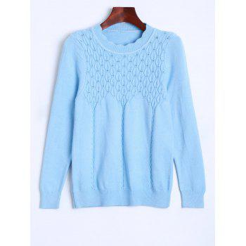 Preppy Style Knitted Pullover Sweater