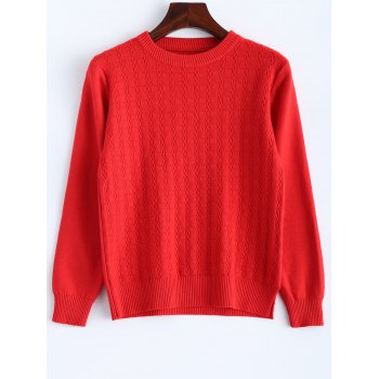 Vintage Fitted Short Sweater