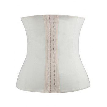 Strapless Steel Waist Training Corset - SKIN COLOR M