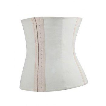 Strapless Steel Waist Training Corset - M M