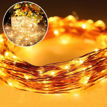 Courtyard Solar Energy Copper Wire Twinkle Lighting Lamp