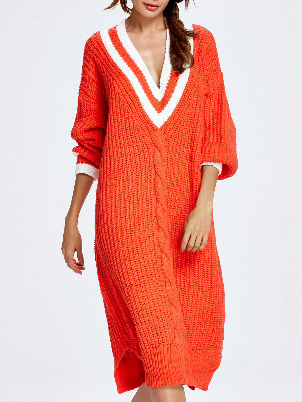 цены  Cable Knit Cricket Midi Jumper Dress